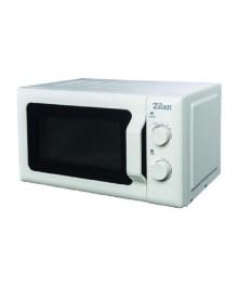 Cuptor cu microunde ZILAN, ZLN-1174, capacitate 20 l, 700 W, Mecanic, Alb