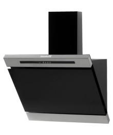 Hota Incorporabila decorativa Hausberg , Putere de absorbtie 650 mc/h, 60 cm, Touch control, Filtru aluminiu, Negru