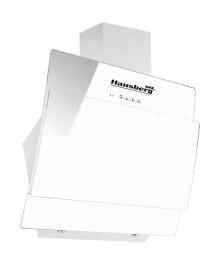 Hota Incorporabila decorativa Hausberg , Putere de absorbtie 650 mc/h, 60 cm, Touch control, Filtru aluminiu, Alb