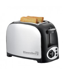 Prajitor de paine , 2 felii, 750W, NEGRU,HB190