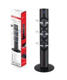 Ventilator turn Zilan ZLN-3420, Timer, Telecomanda, Trei trepte, Consum 3x20W, Debit de aer 1787 mc/ora