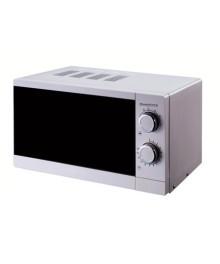 Cuptor cu microunde Hausberg HB-8005, 20 l, 700 W, Mecanic, Alb