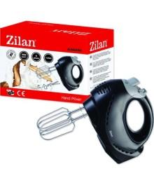 Mixer de mana Zilan ZLN-8280, putere 200 W, functie turbo, 5 viteze, negru