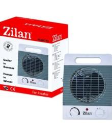 Aeroterma ZILAN ZLN-8373, Putere 2000W, 2 nivele de incalzire+rece, Protectie supraincalzire, Termostat reglabill