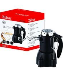 Mixer de mana cu suport Zilan ZLN-8426, putere 300 W, functie turbo, suport accesorii, 6 viteze