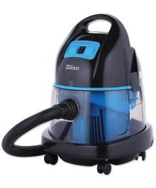 Aspirator cu filtrare prin apa si uscata ZILAN ZLN-8945, 1400W, capacitate recipient apa murdara 8L,ALBASTRU
