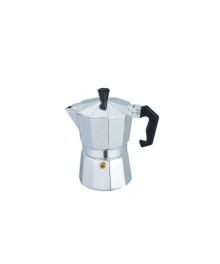 Espressor cafea manual din aluminiu Bohmann BH 9406, pentru aragaz, capacitate 6 cesti