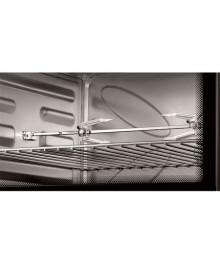 Cuptor electric Samus , 2000 W, 60 litri, Grill, Rotisor, Negru, Convectie
