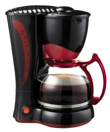 Filtru cafea , capacitate 10-12 cesti ,putere 800W , Rosu/Negru
