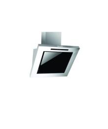 Hota incorporabila decorativa Hausberg HB-1255, Putere de absorbtie 650 m3/h, 1 motor, 60 cm, Filtru aluminiu, Negru/Argintiu