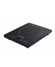 Plita cu inductie Hausberg HB-1525NG, 2000W, Touch control, o zona de gatit, Negru