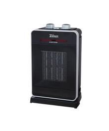 Aeroterma ceramica ZILAN ZLN-3215, Putere 2000W, 2 trepte de reglare temperatura+aer rece, Termostat reglabil, Rezistenta ceramica, Functie oscilatie, Sistem siguranta impotriva rasturnarii si supraincalzirii