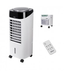 Racitor si purificator de aer mobil ZILAN ZLN-3970, Racire/Umidificare/Purificare, Display cu LED, Telecomanda, Temporizator 1-12 ore Rezervor 7 l, Portabil