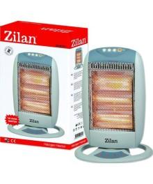 Radiator cu halogen ZILAN ZLN-8397, 1200W, 3 trepte de incalzire, unghi larg oscilatie
