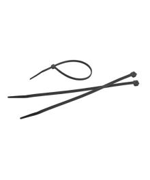 Bride plastic negre, 2.5x100mm, 100 bucati , Tolsen 50115