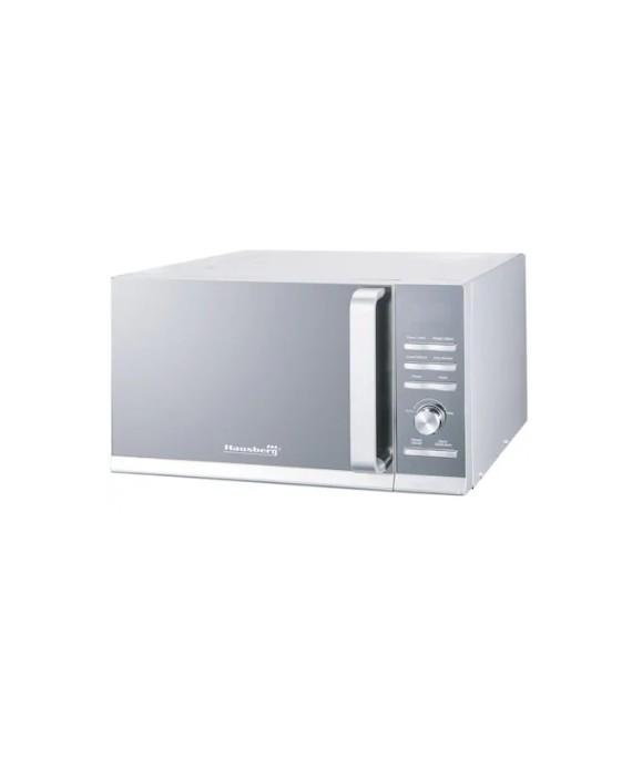 Cuptor cu microunde Hausberg HB-8009, 25 l, 1400 W, Digital, Argintiu