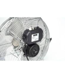 Ventilator inox cu suport Zilan ZLN-2348, Putere 50 W, Diametru 36 cm, 3 trepte ventilare, Unghi de inclinare reglabil