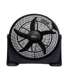 Ventilator rotund cu suport Zilan ZLN-2362, Diametru 50 cm, Inclinare reglabila, Putere 75 W, 3 trepte ventilare, 5 palete de ventilare